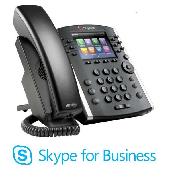 Desktop Handsets for Lync and Skype Conference Phones