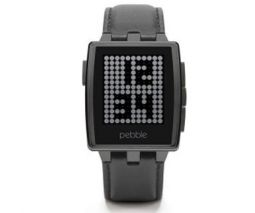 Pebble Steel Smartwatch Black Matte