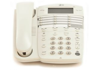 AT&T 924 4-LINE 16-Button White CORDED TELEPHONE