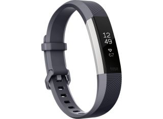 Fitbit - Alta HR Activity Tracker + Heart Rate-grey-Small