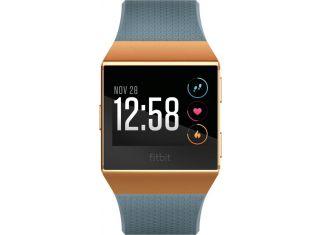 Fitbit - Ionic Smartwatch - Burnt orange / slate blue