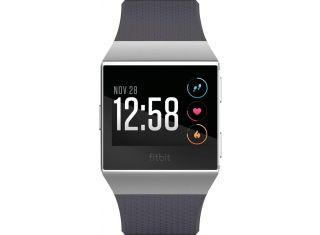 Fitbit - Ionic Smartwatch - Blue gray / silver gray