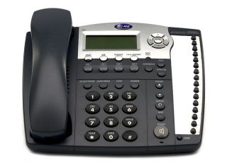 AT&T 984 4-LINE EXPANDABLE CORDED SMALL BUSINESS TELEPHONE WITH CALLER ID and Answering System