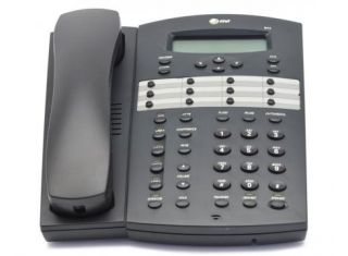 AT&T 944 4-LINE EXPANDABLE CORDED SMALL BUSINESS TELEPHONE Open Box
