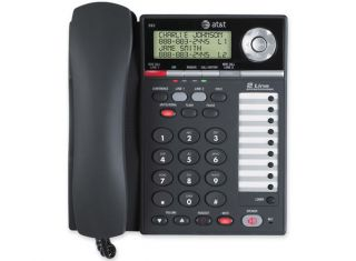 AT&T 993 2-LINE CORDED SMALL BUSINESS TELEPHONE Open Box