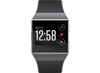 Fitbit - Ionic Smartwatch - Charcoal / smoke gray