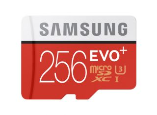 SAMSUNG EVO PLUS 256GB 100MB/S U3 MICROSDXC WITH ADAPTER