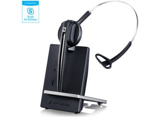 Sennheiser D 10 USB ML Microsoft Lync DECT Cordless PC Headset with Base