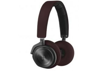 B&O PLAY Beoplay H8 On-Ear Wireless Noise Canceling Headphones - Deep Red