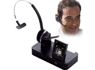 Jabra PRO 9470 Mono DECK Wireless Headset for mobiles, desk phones and softphones