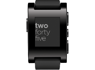 Pebble Original Smart Watch for iPhone and Android Devices - Black