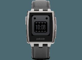 Pebble Steel Smartwatch Black