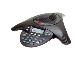 Polycom SoundStation2 With Display conference phone, non-expandable