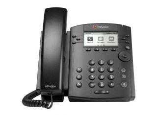 Polycom VVX 311 6 Line VoIP Desktop Phone with 2 Gigabit Ethernet ports (2200-48350-025) Open Box