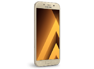 "SAMSUNG GALAXY A5 2017 (5.2"", 16MP, 32GB/3GB, VF) - gold-32GB"