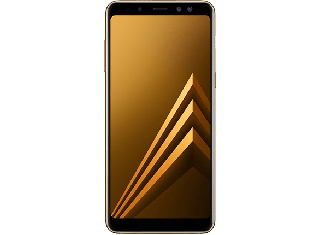 "SAMSUNG GALAXY A8 2018 (5.6"", 16MP, 32GB/4GB) - GOLD"