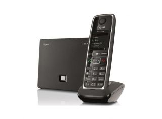 Gigaset colour screen IP Cordless Hybrid Expandable Phone for IP or Landline Calls. Great for any IP PB (C530IP)