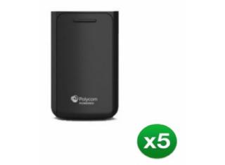 Polycom VVX D60 Wireless Handset Battery (5 pack)
