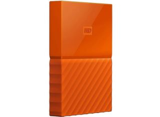 WD My Passport Portable Hard Drive HDD 2TB - Orange